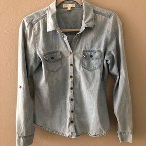 """Cute """"Jean"""" Fabric Top"""